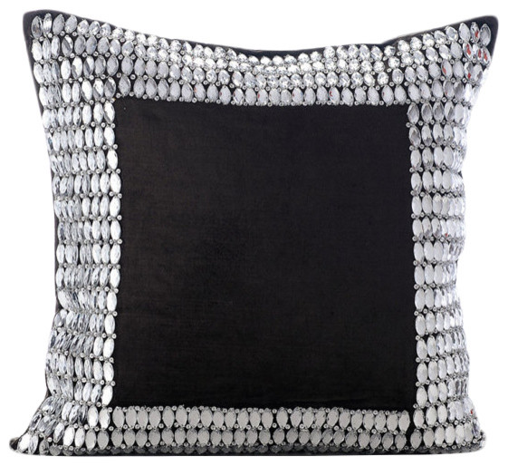 charcoal grey throw pillows 20 x20 indian pillow covers velvet charcoal onyx
