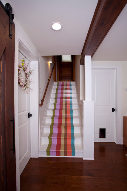 Funky Basement Eclectic Staircase Minneapolis By