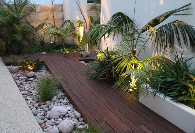 Ascher Smith Landscape Designs - Tropical - Landscape ... on Tropical Backyard Ideas  id=89925