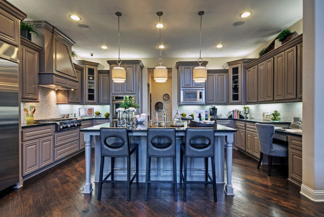 Toll Brothers Plano, TX Model - Contemporary - Kitchen ... on Model Kitchens  id=76799