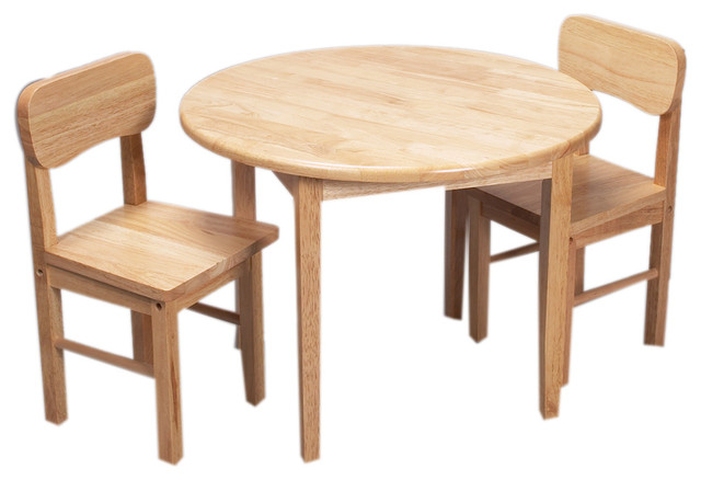 gift home hardwood table and chair on Kids Round Table And Chairs id=39827