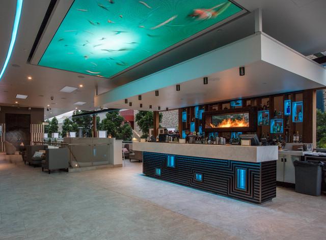 Soleil Pool Bar Rydges Hotel Modern Home Bar