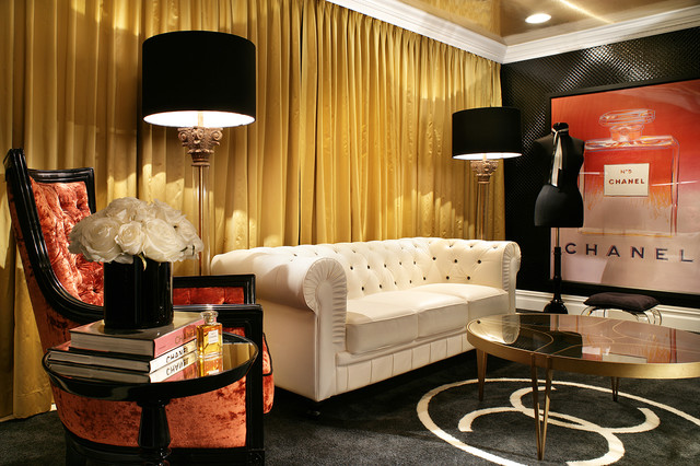 Coco Chanel Sitting Room Contemporary Living New