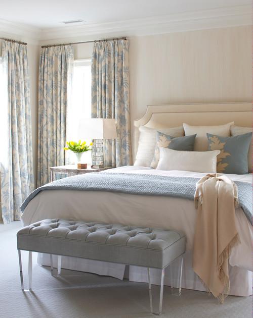 Blue/Cream Bedroom