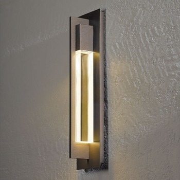 Hubbardton Forge | Axis Medium Outdoor Wall Sconce ... on Modern Outdoor Sconce Lights id=46796