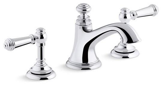 kohler artifacts bell bathroom sink spout polished chrome