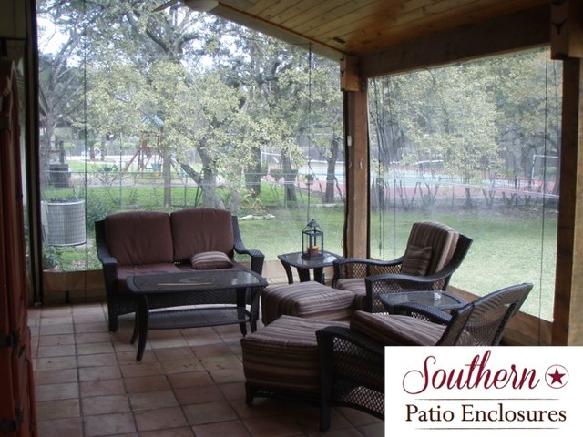 residential Clear Vinyl Patio Enclosure curtains by ... on Outdoor Patio Enclosures  id=57596