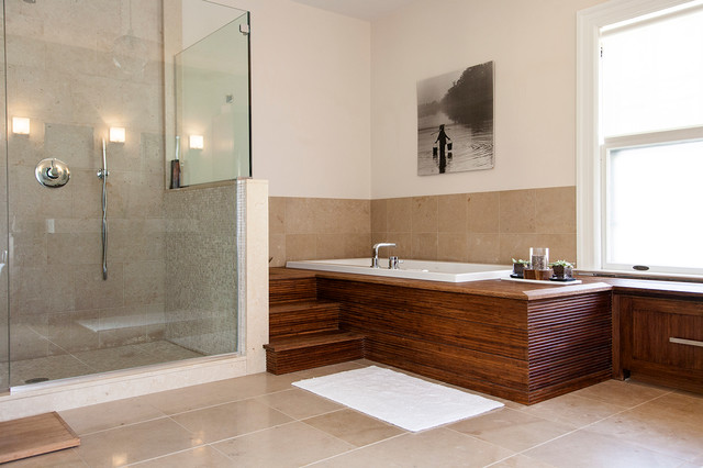 modern spa bathroom | houzz