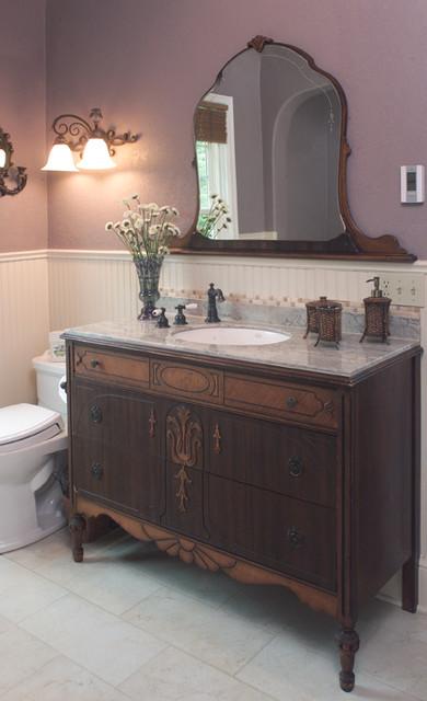 Victorian Farmhouse Bathroom Traditional Bathroom