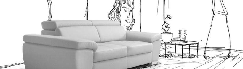 sofa modernist creation. Black Bedroom Furniture Sets. Home Design Ideas