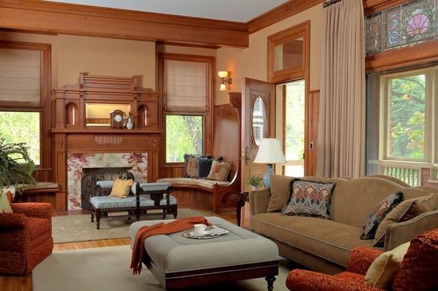 Queen Anne Living Room Ideas