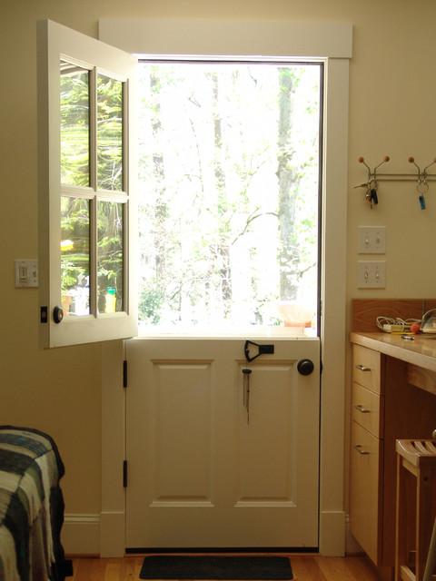 Dutch Door In Druid Hills Renovation