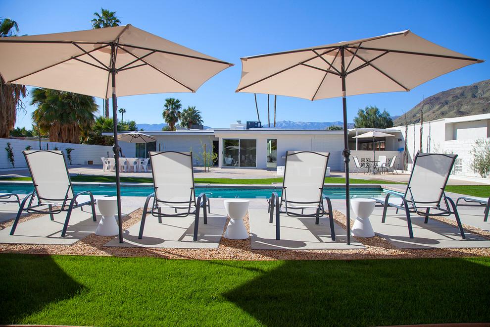 Mid Century Modern Rancho Mirage - Midcentury - Patio ... on Mid Century Patio Design  id=60253