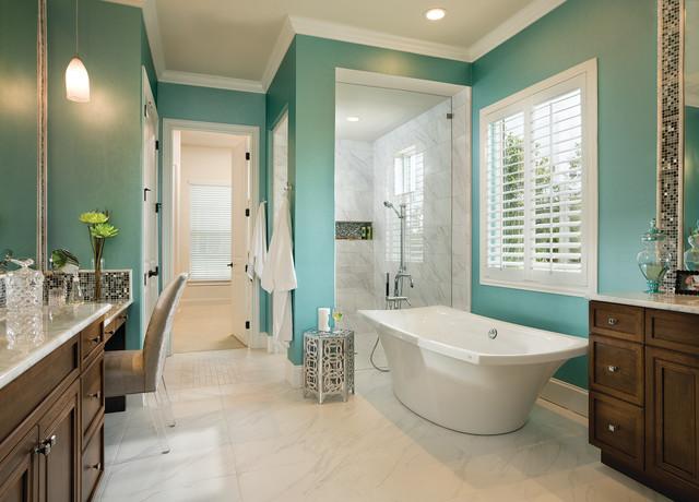 Asheville Model Home Interior Design 1264f - Traditional ... on Bathroom Model Design  id=57983