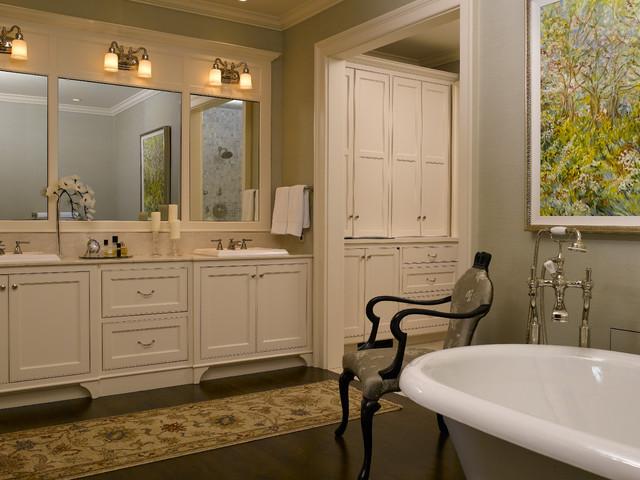 Classic Style Master Bath Traditional Bathroom