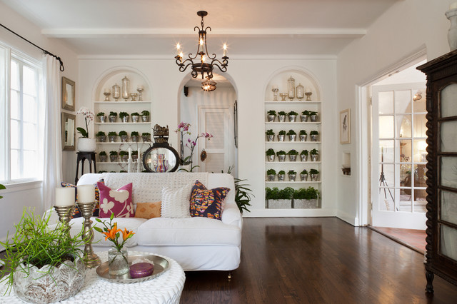 1920's Mediterranean Revival - Living Room mediterranean-living-room