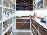 contemporary-kitchen 15 Smart Ideas From Beautifully Organized Pantries upholstery in clapham junction