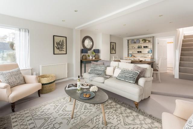 Grey Carpet Living Room Ideas Houzz Uk