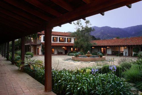 Adobe Courtyard
