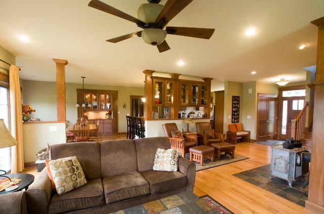 Craftsman Style Living Room Designs