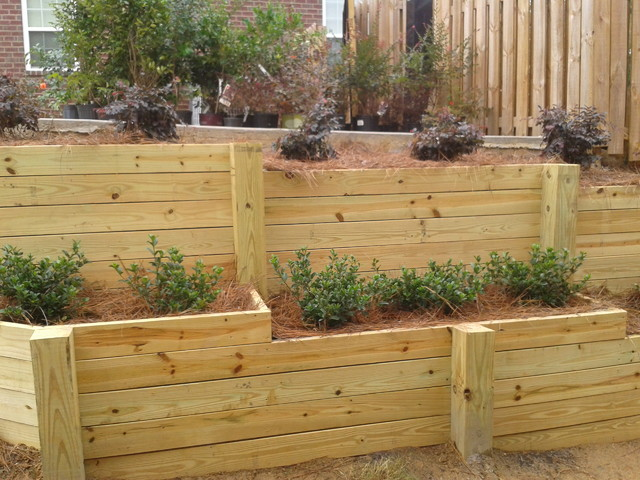 Retaining Walls Designs Wood Small Ideas Home Decoration Improvement On Wall Design Picture