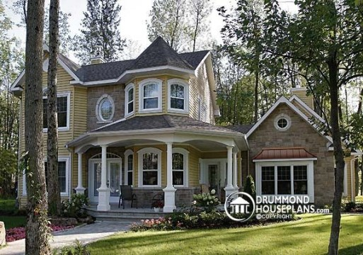 Beautiful Victorian Cottage photos by Drummond House Plans   house     Beautiful Victorian Cottage photos by Drummond House Plans   house plan    2896  victorian