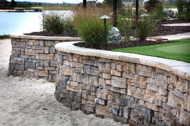 Lakefront Property - Rustic - Patio - Omaha - by Clear ... on Lakefront Patio Ideas id=63977