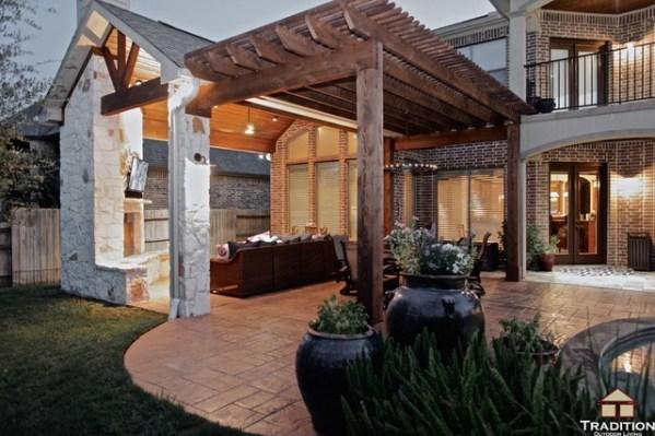 texas outdoor living covered patios Patio Cover Builder Katy TX Outdoor Living Area