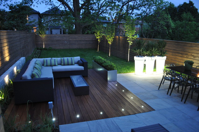 Modern Toronto Backyard on Modern Back Patio id=76304