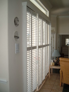 Plantation Shutters On Sliding Glass Doors - Kitchen Cabinets Doors For Sale