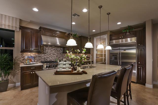 "Pulte Homes-""Celebration"" Model Home-Vail, Arizona ... on Modern:ln_Sacsp1Ua= Kitchen Model  id=76156"