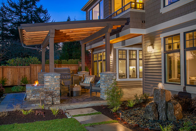 Covered Outdoor Living Area - Contemporary - Patio ... on Covered Outdoor Living Area id=64069