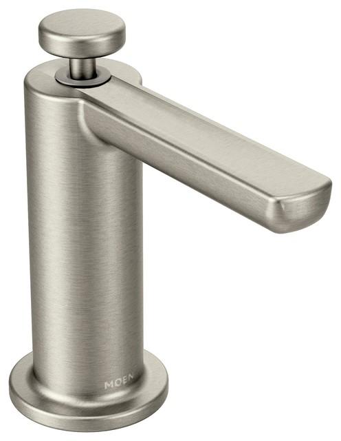 moen modern soap dispenser spot resist stainless