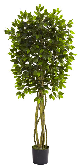 Nearly Natural Ficus Tree Traditional Artificial Plants And Trees By Beyond Stores