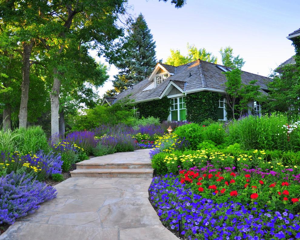 Front Yard Renovation - Traditional - Landscape - Denver ... on Front Yard Renovation Ideas id=73251
