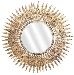 emde gold leaf sun mirror tropical