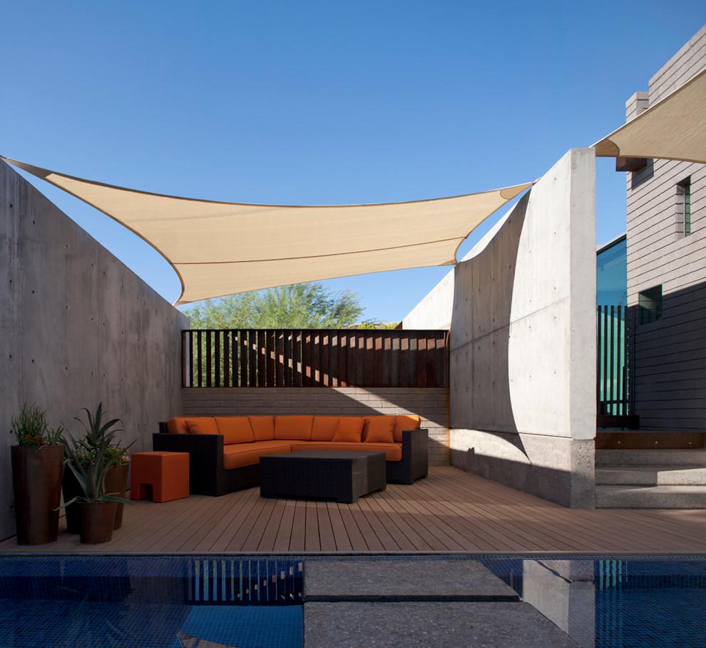 Arcadia Custom Home - Contemporary - Patio - Phoenix - by ... on Arcadia Backyard Designs id=32780