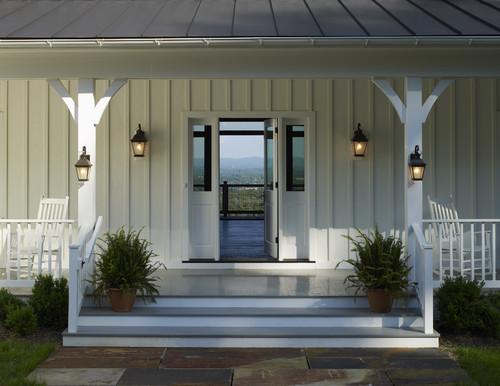 farmhouse porch lighting four ways