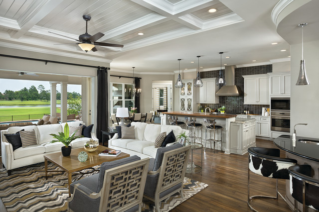 Kitchen Family Room Design Ideas