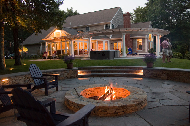 Award-winning Outdoor Living Area - Rustic - Patio ... on Houzz Outdoor Living Spaces id=32767
