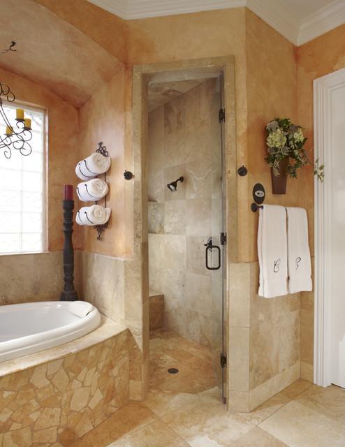 Keller Tx Bathroom Remodel Project Mediterranean