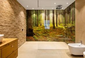 Glaswand Badezimmer   Modern   Badezimmer   Sonstige   von ...