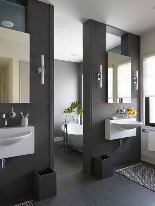 Color Of The Month Decorating With Charcoal Gray Abode