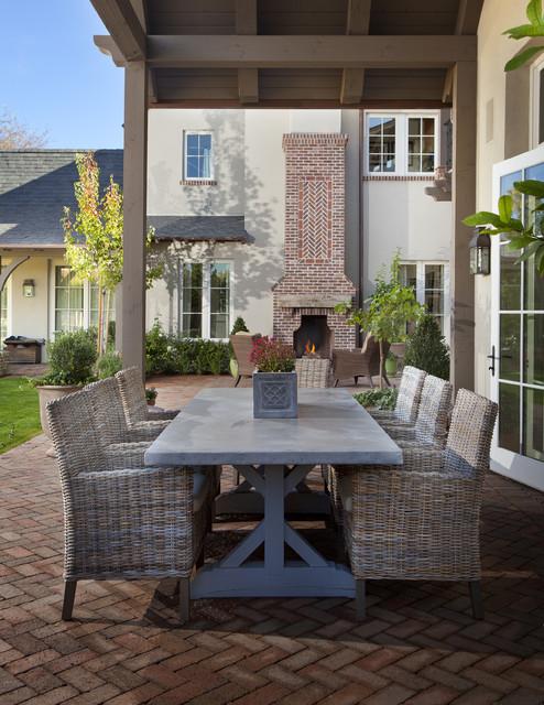 Arcadia English Remodel - Traditional - Patio - Phoenix ... on Arcadia Backyard Designs id=24080