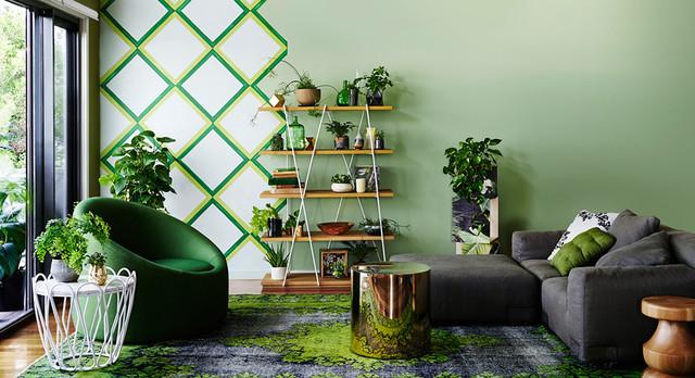 Uno sfondo in questa tonalità, verrà valorizzato da divani e poltrone azzurre o gialle e. Le Tonalita Di Verde Per Arredare Casa