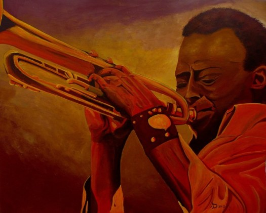 """Miles Davis"" Original Art - Contemporary - Paintings - by ..."