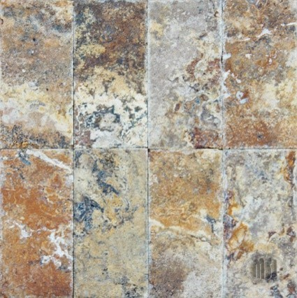 honed unfilled tumbled tuscany scabos travertine tile sample