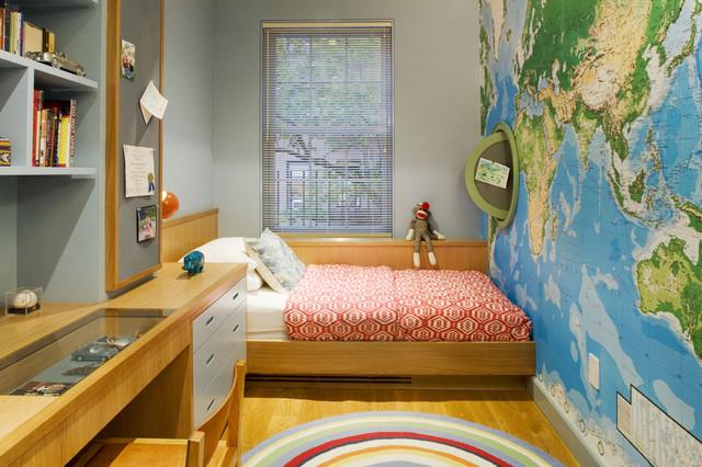 Contemporary Kids Bedroom - http://www.houzz.com.au/