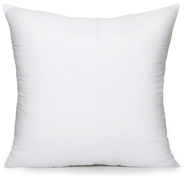 superior quality pillow inserts 26 x26 washable square throw pillow made in usa
