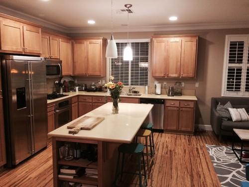 Need help picking the backsplash for maple kitchen! on Kitchen Backsplash With Maple Cabinets  id=47812